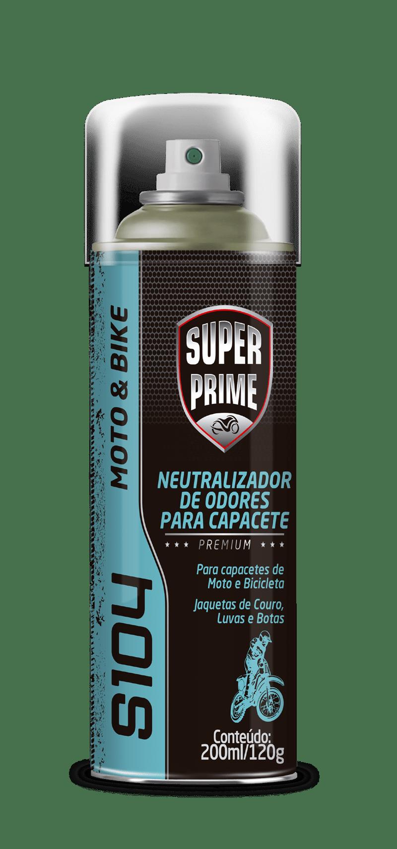 Neutralizador de odores para capacete Lavanda Spray 200ml Super Prime Aerosol
