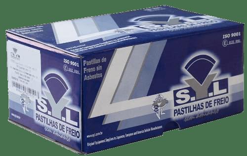 Pastilha de freio traseira Civic Accent Integra Accord S2000 SX4 Legend Stream Predule Shuttle SYL 1258