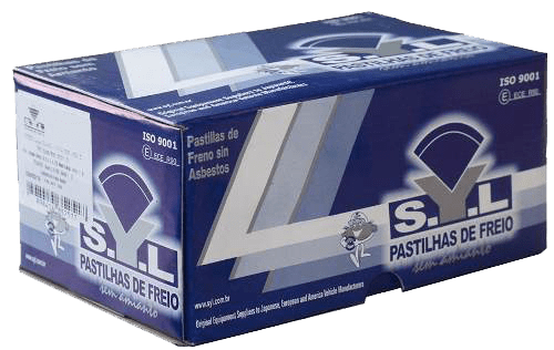 Pastilha de freio traseira Série 3 Série 5 Série 7 Z3 SYL 1060
