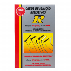 Jogo de Cabo de Vela NGK SC-G101 Onix Prisma