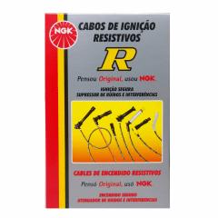 Jogo de Cabo de Vela NGK SC-R16 Sandero Clio Logan Kangoo March