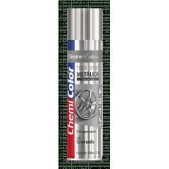 Tinta Spray Cromado Metálico 400ml Chemicolor