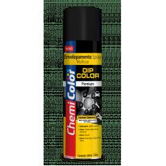 Tinta Spray Envelopamento Preto fosco 400ml Chemicolor