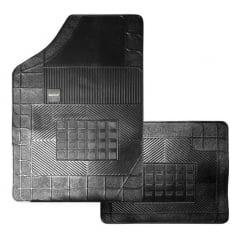 Jogo de tapete preto 2 peças Saveiro G5 BC01280011 Borcol